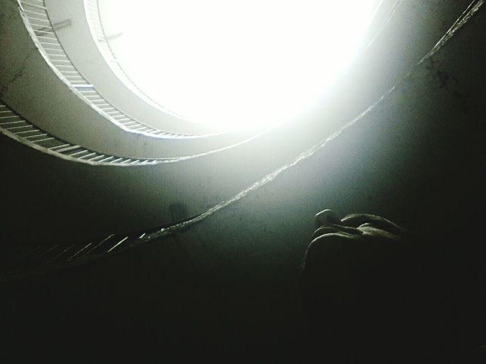 Me Black And White Silhouette Self Portrait