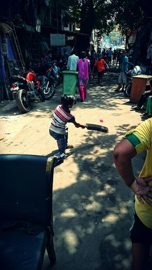 Playing Cricket Street Cricket Gali_cricket Collected Community Urban Lifestyle Sport In The City Capture The Moment Here Belongs To Me Gullycricket Millennial Pink