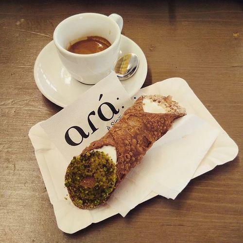 Florence Morningbreakfast Espresso CaNnoLi