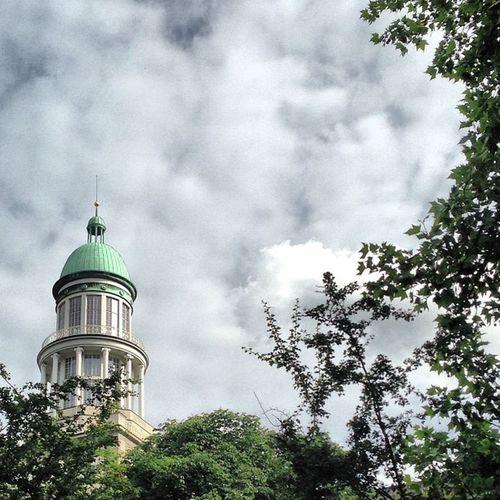 #berlin #fhain #friedrichshain #stalinbau #zuckerbäckerbauten #turm #tower Berlin Tower Friedrichshain Turm Fhain Stalinbau Zuckerbäckerbauten