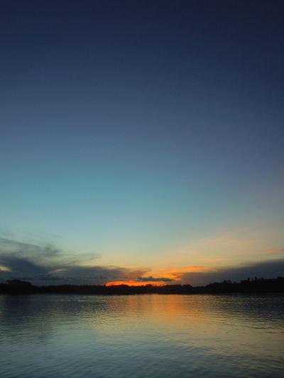 First Eyeem Photo Rainforest Sunset Lake Gradient Amazing View Amazonia Sunset on Laguna Grande, Cuyabeno - Ecuador