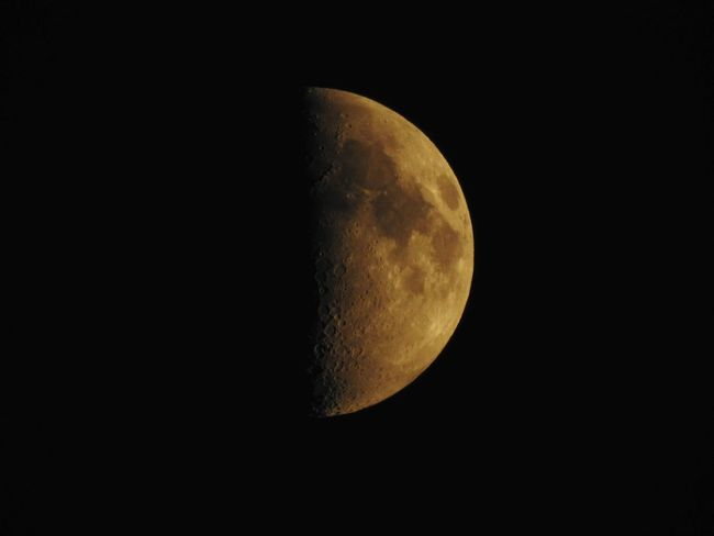 Astronomy Beauty In Nature Black Color Dark Moon Moon Nature Night No People Outdoors Planetary Moon