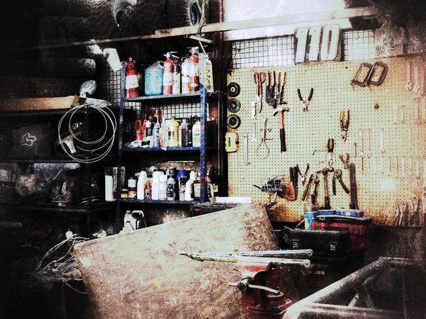 Mechanical Things Mechanical Workshop Cellar Tools