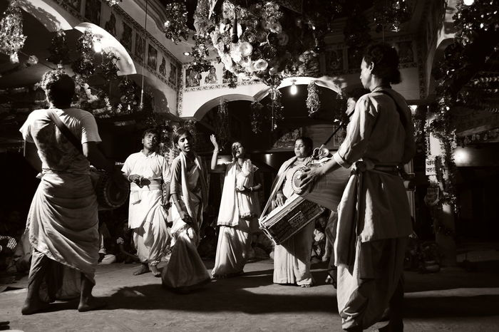 Cultures Tradition Real People Men Adults Only Women Adult Only Men Lifestyles Large Group Of People People Togetherness Outdoors Day Culture Culture And Tradition Religion And Beliefs Religious  Dance Joy SURRENDER Indian Culture  India Art Is Everywhere EyeEmNewHere The Photojournalist - 2017 EyeEm Awards The Photojournalist - 2017 EyeEm Awards Black And White Friday