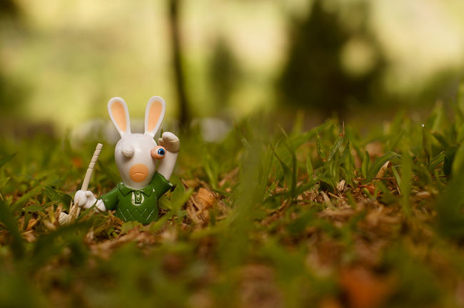 Bootleg Day Golf Grass Green Color No People Outdoors Ravingrabbids Toy Toyphotography