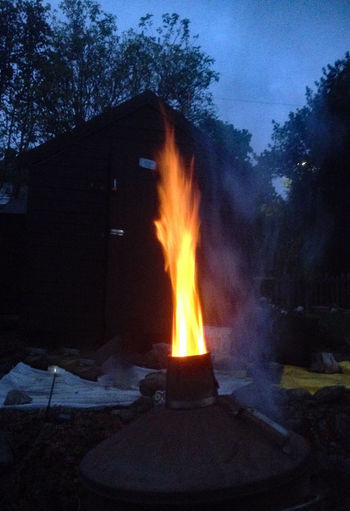 This is me burning confidential rubbish in my back garden. What a heat !! Bonfire Burning Burning Rubbish Camping Day Fire - Natural Phenomenon Fire Pit Flame Glowing Heat - Temperature Inferno No People Outdoors Tree