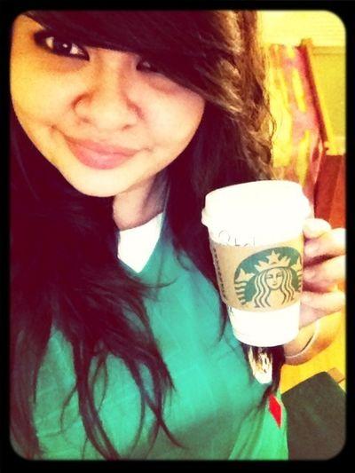 Got My Coffee, Now I'm A Happy Camper ;o