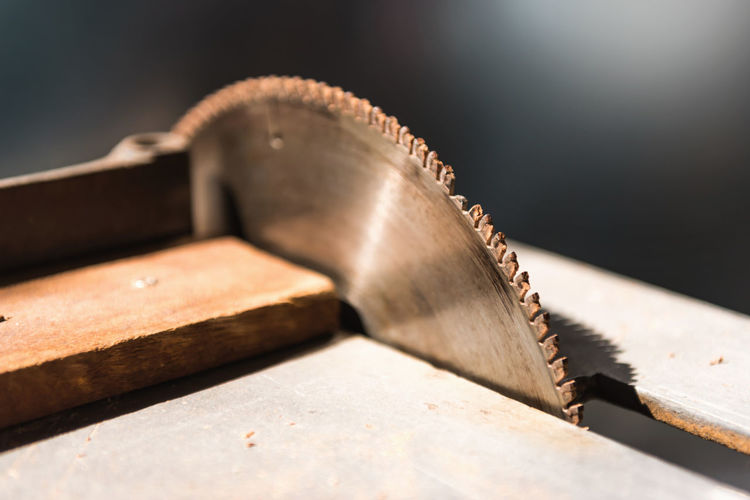 Close-up of hand tool