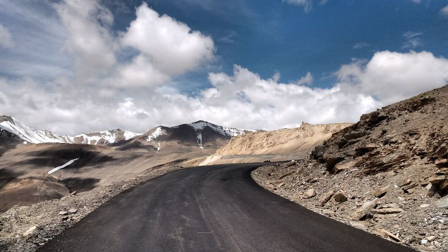 The Journey Is The Destination Hello World World Highest Motrable Road