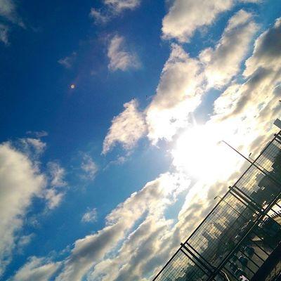 Gokyuzu yine Sarilacivert yine bi guzel... Sky Cloud manzara nature color istanbul