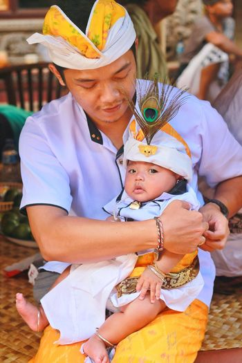 Hindu, Balinese. 42 days ceremony Hindu Culture Hindu Good Boy Bali Balinese Balinese Culture 42days Ceremony Togetherness Baby Happiness Portrait Women Close-up Newborn 0-11 Months Baby Boys New Life Babyhood The Fashion Photographer - 2018 EyeEm Awards