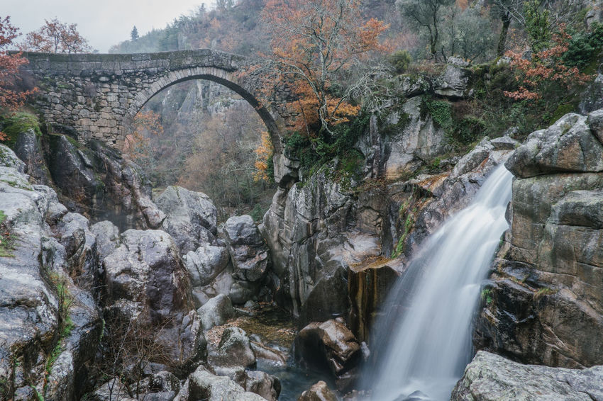National Park Peneda Geres An Eye For Travel Business Stories Castle EyeEmNewHere FUJIFILM X-T2 Kornspeicher Lindoso Misarela Bridge National Park Nature Peneda-Gerês National Park Ponte De Misarela Portugal Shades Of Winter Bridge Espigueiros Espigueiros Do Lindoso Explore Fujifilm Outdoors