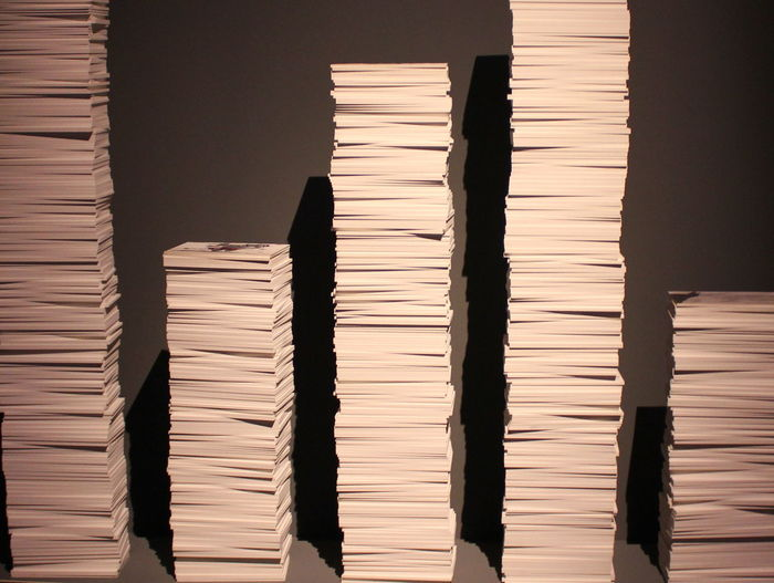 Abundance Close-up No People Paper Paper Work Pending Work Piles Of Paper Repetition Side By Side Working Hard