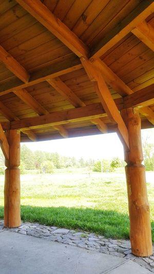 Architectural Column Below Architecture Built Structure Sky Green Color