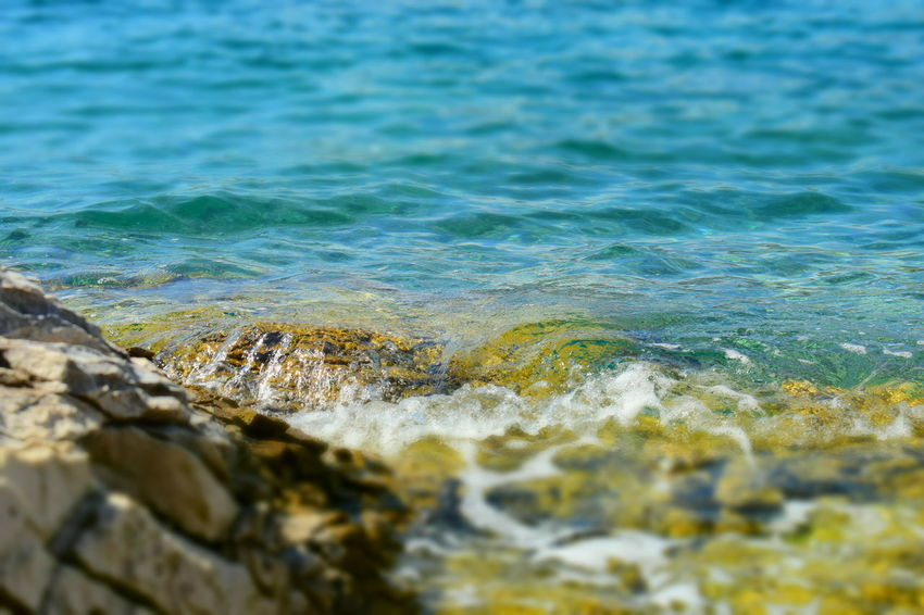 Beauty In Nature Blue Close-up Croatia Croatiafulloflife Day EyeEm Nature Lover EyeEmNewHere Nature Nature Nature_collection Naturelovers No People Outdoors Sea Stones & Water Stonestructures Summertime Travel Travel Destinations Vacations Water Wave Waves Waves Crashing