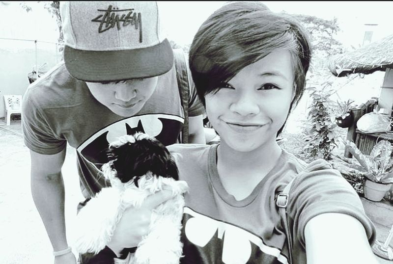 were on a LDR and its worth melting for :') Blackandwhite Photography Happy Couple Batman ❤ LDR