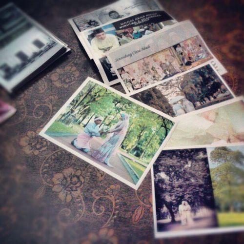Siap test printing photobook.Suke sangat print kat dtrio