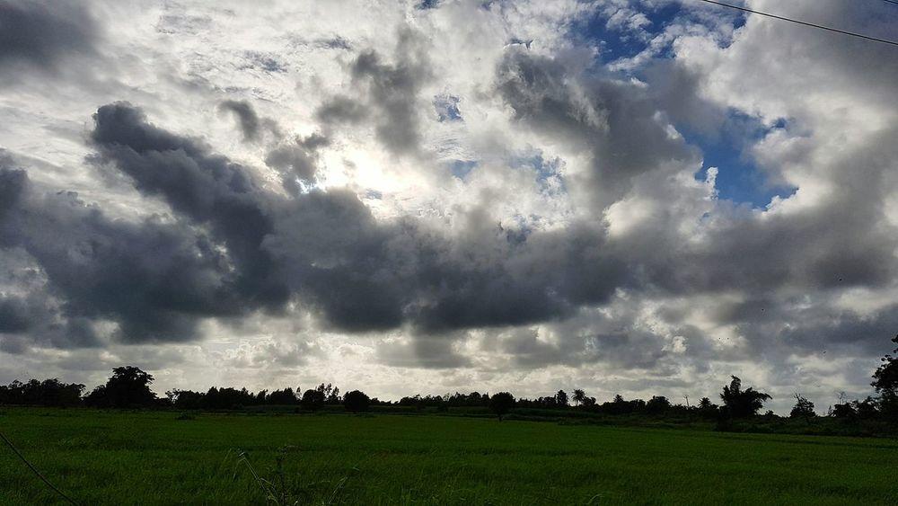 Scenics Landscape Beauty In Nature Cloud - Sky Nature Field Dramatic Sky Cloudscape Clouds And Sky Cloudporn N