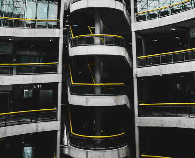 Paint The Town Yellow Amazing Architecture Building Exterior Built Structure Day First Eyeem Photo No People Outdoors Simetry Be. Ready. The Architect - 2018 EyeEm Awards #urbanana: The Urban Playground