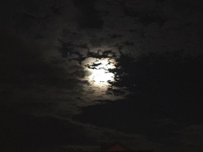 Night Sky Moon Dark Outdoors No People Moonlight