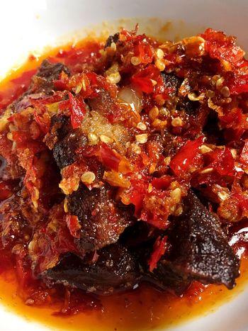 Food Indonesian Food Beefbalado Lovecooking Padangindonesia Loveindonesianature Loveindonesianfood Spicyfood Indonesianlovespicy First Eyeem Photo