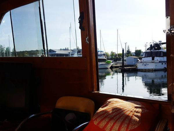 Boatlife Lookingout Harbour View Marina Tacoma_WA Afloat Onaboat Lifeonthewater Enjoying The View Moored