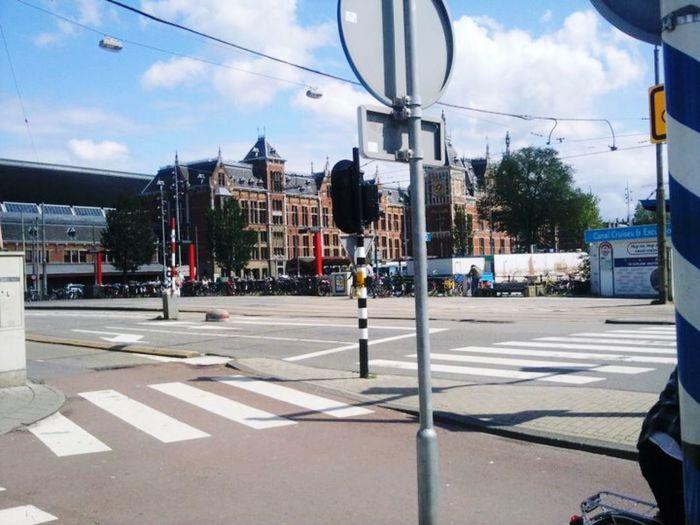 Cityscape Amsterdam Holland City Building Exterior Architecture Transportation Street Sign Road Symbol Incidental People City Street Road Marking Crosswalk #urbanana: The Urban Playground