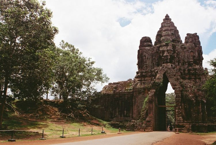 View of a temple