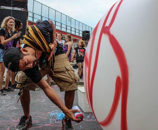 Fonki Graffiti Montréal Beyondwalls LYNN Streetart