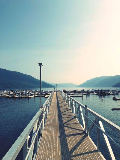 Mabel Lake view