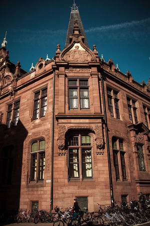 Heidelberg Library Architecture Biblioteca Building Exterior Built Structure Day No People Outdoors Sky University Window