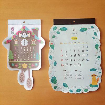よろしくジューン✧ カレンダー Calendar ジューン June 6月