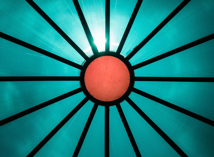 Sun Islam Geometric Shape Pattern Circle Full Frame Indoors  Backgrounds Shape No People Directly Below Low Angle View Design Close-up Red Ceiling Orange Color Illuminated Blue Cupola Turquoise Colored Geometry Symbol Sunrays Textured  Abstract Abstract Backgrounds Circular Round Textured