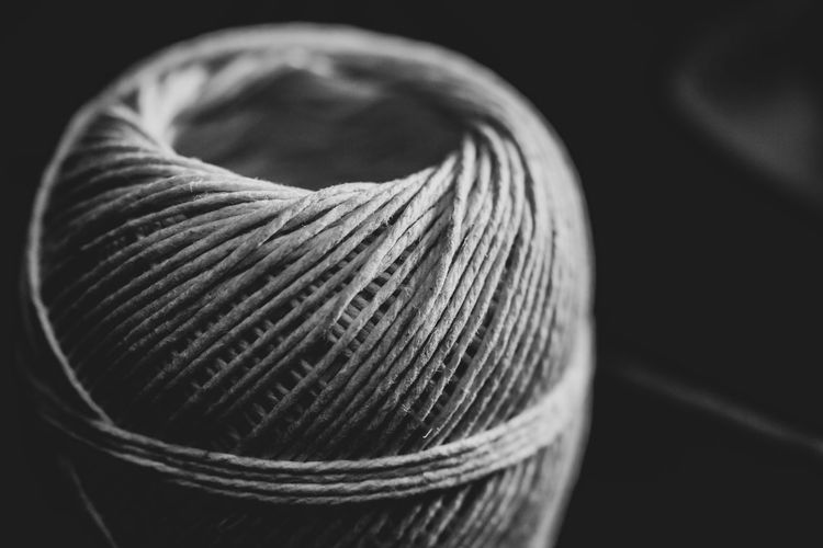 Close-up Thread Indoors  Still Life Ball Of Wool No People Wool Focus On Foreground Material Art And Craft Pattern Spool String Textile Textured  Ball Studio Shot Rope Selective Focus Sphere
