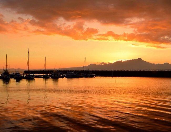 Ariake sea Tadaa Sun Set Sea And Sky Water Reflections