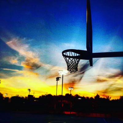 Play to get your mind off things... Basketball Itsabeautifulevening
