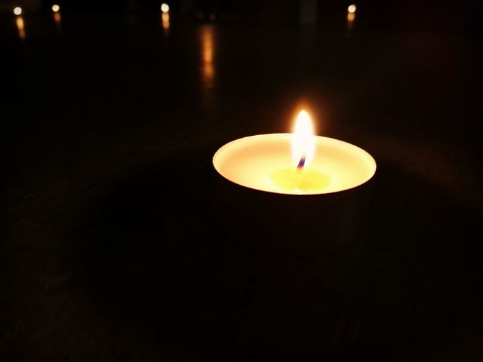 Candle Flame Illuminated Night Relax Meditation Day Thoughts And Memories No People Indoors  Heat - Temperature Close-up