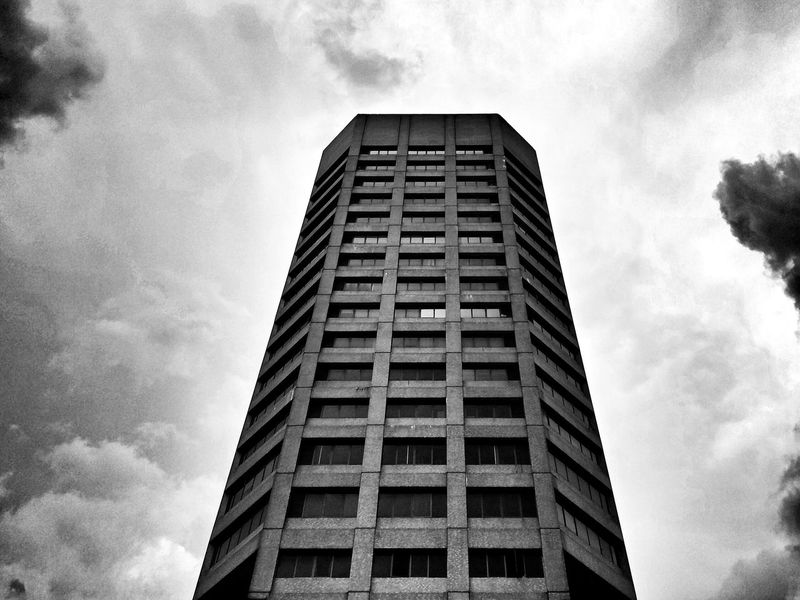 The first. Architecture Architecture_bw Sky BWlovers Bwlandscape Landscape