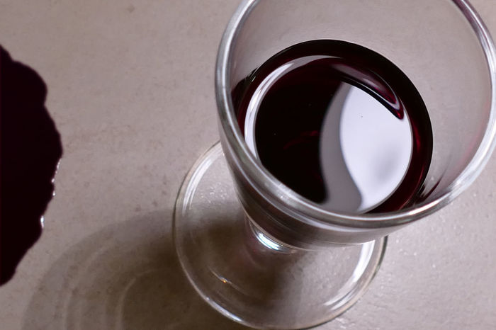 Bood & WineWine Moments Weinglas Blut Cloesup Macro Photography