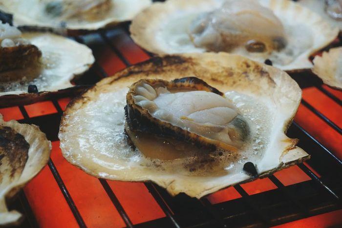 Scallops Seafoodporn Kyototravel Japan Close-up