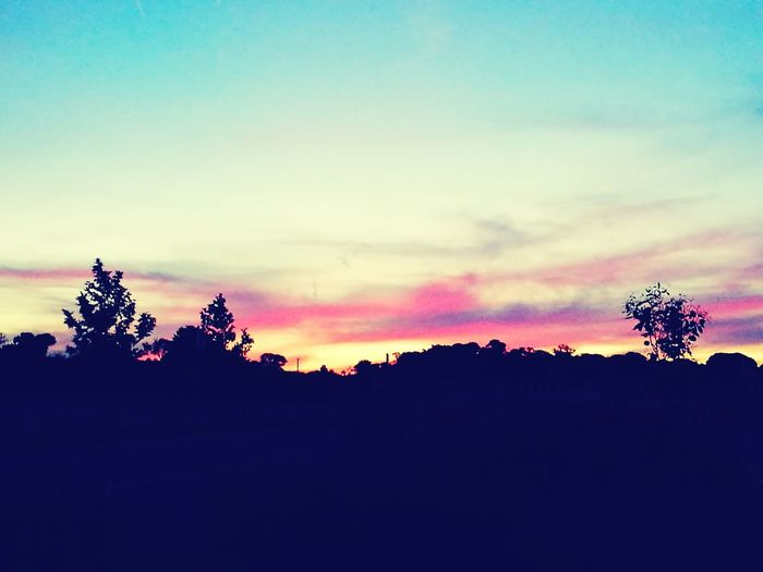 Sunset Landscape Nature Outdoors Sky Beauty In Nature View