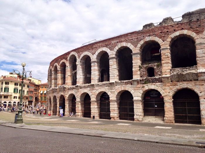 134/365 May 14 2017 One Year Project Arenadiverona Arena Verona Verona Italy Italy Architecture Built Structure History Arch Building Exterior Old Ruin Ancient Travel Destinations Outdoors Sky Day Travel Ancient Civilization No People Veneto