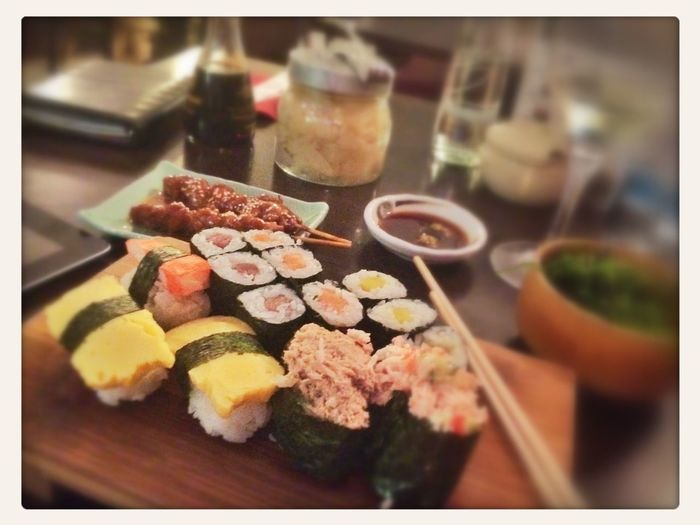 Strategy Planning Business Sushi