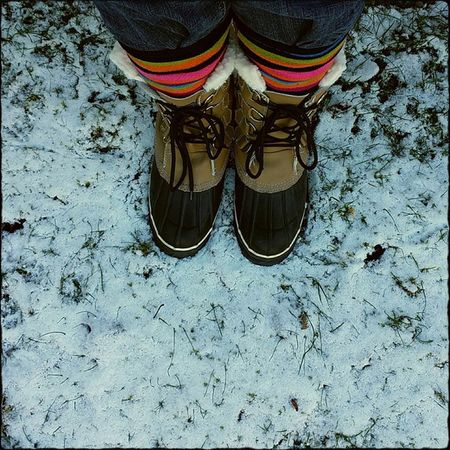 The snow is here!! I am wearing my snow boots & I am so ready for it!! Bring it on!! ❄ Snow Snowboots Colorfulsocks Cold Brr Chilly Dupont Happiness Happygirl Footselfie Pixlromatic GetOutThere PNW Bringiton Pacificnorthwest Cellphonephotography Portorchardwashington Samsunggalaxynote3