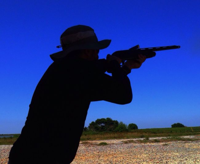 Silhouette IPhone IPhone Photography skeet shooting