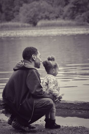 A father daughter moment in time Fatherhood Moments Father Daughter Time Father Daughter Moments EyeEm Selects Moment In Time Child Childhood Togetherness Full Length Friendship Boys Stuffed Toy Males  Teddy Bear Care Family Bonds Daughter Hooded Shirt