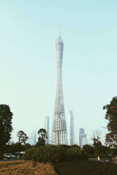 Canton Tower Guangzhou China Tower Architecture