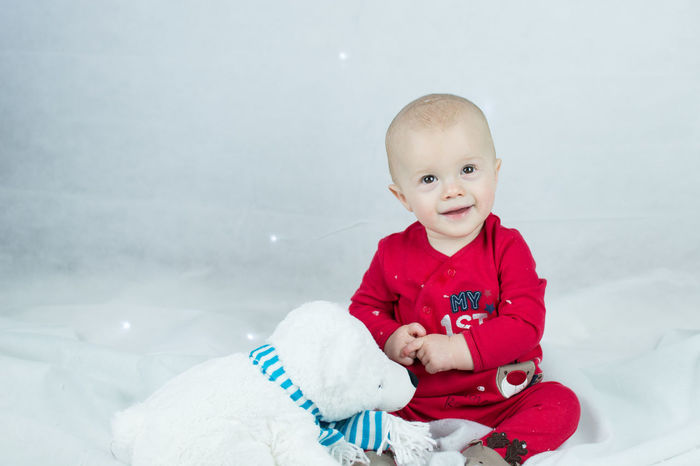 festive baby Babies Only Baby Baby Christmas Baby Fun Time!! Baby Winter Babyhood Christmas Fun Cute Baby Cute Christmas Cute Polar Bear Festive Fun Happy Let It Snow Me And My Polar Bear One Person Portraits Smile Snow Softbox Streamzoofamily Winter Winter Winter Wonder