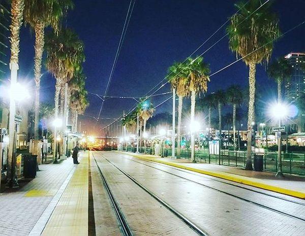 Hier wäre ich auch gern Bahnfahrer... USA CaptureTheMoment Route66 Lifeofagoodboy Lifeofarudeboy Instatravel Gaslampdistrict Sandiego Palm