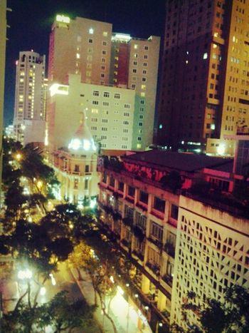 Saigon Nighlife Lights From Where I Stand